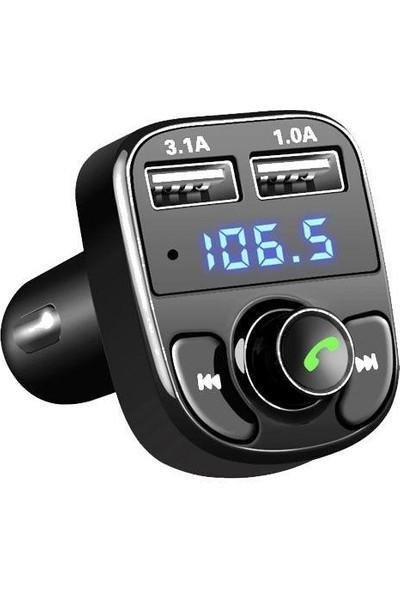 Concord Araç Kiti Fm Transmitter BT/USB/MP3/SD C-606 Car X8