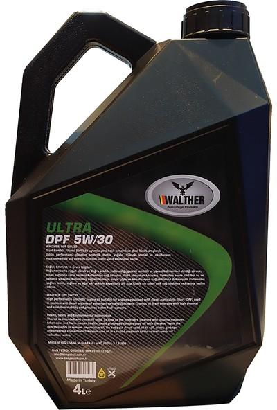 Walther Ultra Dpf 5W/30 Sentetik Motor Yağı (Dizel Partikül Filtresi)