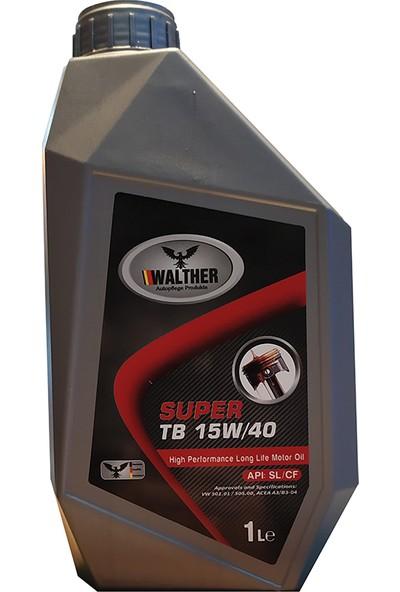 Walther Super Motor Yağı Tb 15W-40