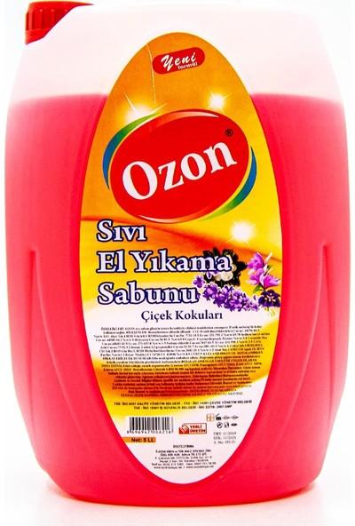 Ozon Sıvı El Yıkama Sabunu Çiçek Kokuları 5 lt