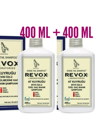 Revox At Kuyruğu Şampuanı 400 ml x 2 Adet
