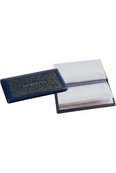 Leuchtturm Kağıt Para Cep Albümü 170 182 x 92 mm 20 Yaprak Dışdan Dışa Albüm Boyutu 205 x 120 mm
