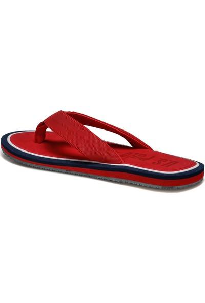 U.S Polo Assn. Vitus Kırmızı Erkek Terlik 100250330