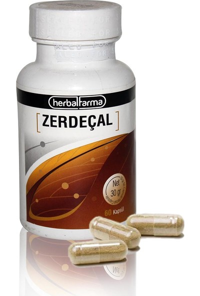 Herbal Farma Zerdaçallı Kapsül