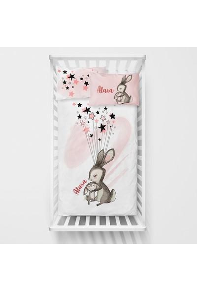 Homamia Kişiye Özel Bebek Nevresim Takımı Tavşan
