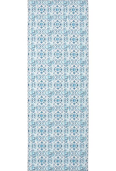 Stone Zemin Matı 50x150 Kapı Tezgah Önü Mutfak Paspası