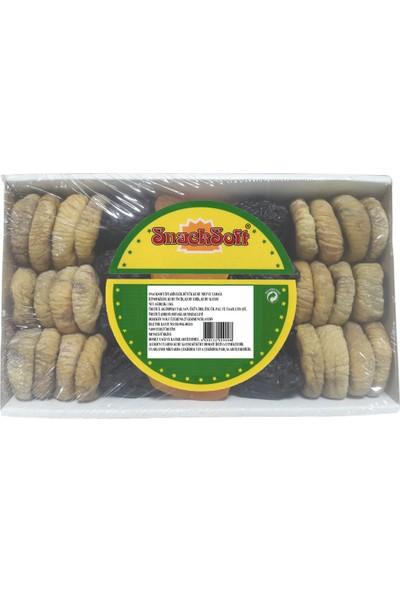 Snacksoft Iftariyelik Küçük Kuru Meyve Tabağı 1000 gr