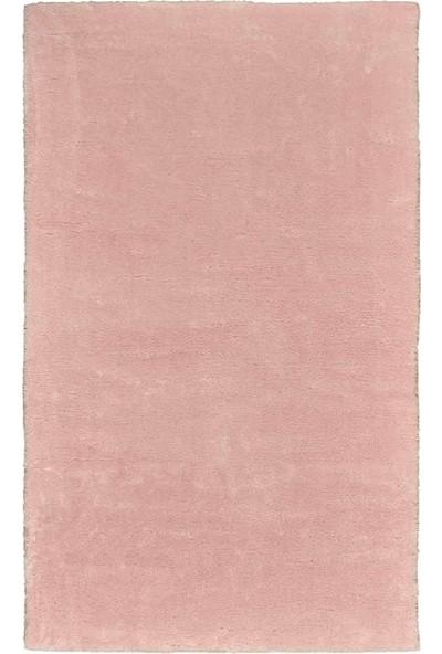 Forfloor Post Peluş Kaymaz Tabanlı Dikdörtgen Halı Pembe 80 x 120 cm