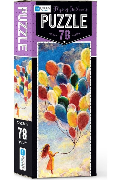 Blue Focus 78 Parça Puzzle Flying Balloons