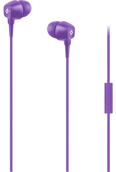 Ttec Pop Mikrofonlu Kulakiçi Kablolu Kulaklık - Mor