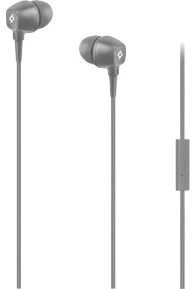 Ttec Pop Mikrofonlu Kulakiçi Kablolu Kulaklık - Gri