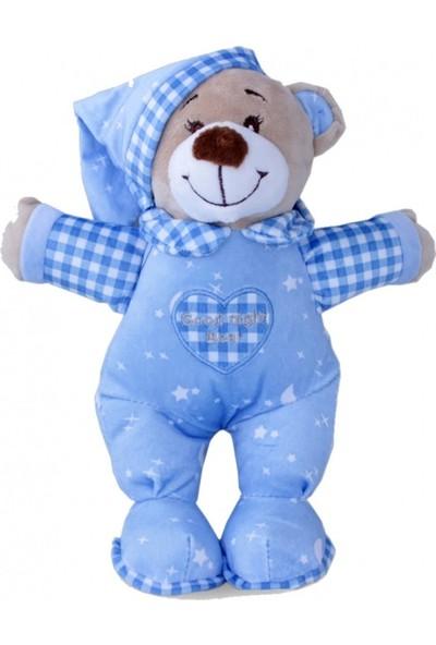 Selay Toys Bebek Uyku Ayıcığı Mavi 25 cm