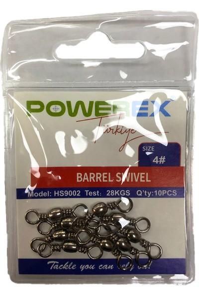 Powerex HS9002 1/0 No. Paketli İkili Fırdöndü 10'lu Paket