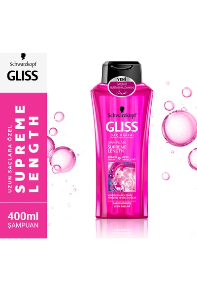 Gliss Supreme Length Şampuan 400 ml