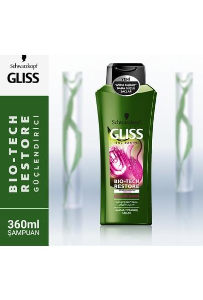 Gliss Bio-Tech Güçlendirici Şampuan 360 ml