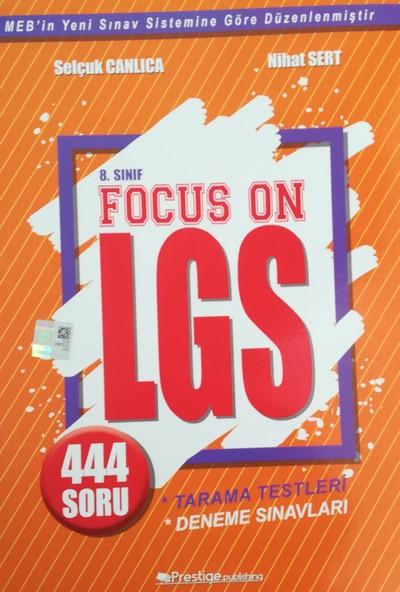 Prestige Publishing Focus On 8. Sınıf LGS Tarama Testleri ve Deneme Sınavları