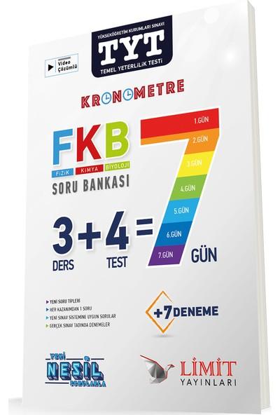 Limit Yayınları Tyt Kronometre Fizik Kimya Biyoloji (Fkb) Soru Bankası - 2020