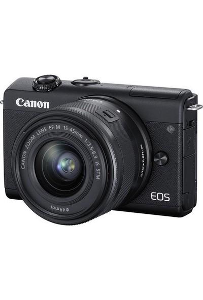 Canon Eos M200 15-45 mm Is Stm Fotoğraf Makinesi