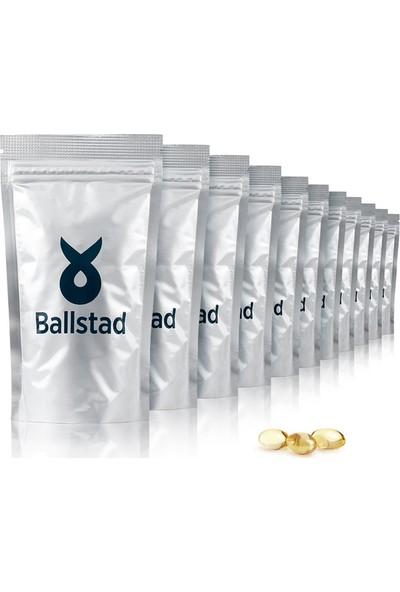 Ballstad Omega 3 Dolum Paketi - 12 Adet - 1050 mg Norveç Balık Yağı 1116 Kapsül