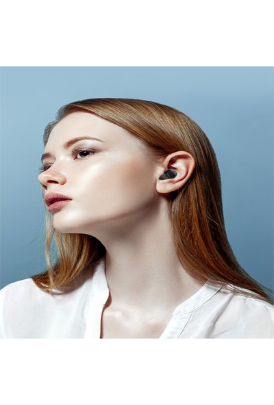 Swhy Tws Kablosuz Bluetooth Kulaklk Hızlı Şarj Bluetooth 5.0 Kulaklık Mini Spor