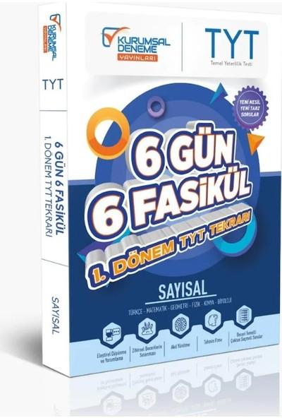 Kurumsal Deneme Yayınları TYT Sayısal 6 Gün 6 Fasikül Yarıyıl Genel Tekrar Kamp Kitabı