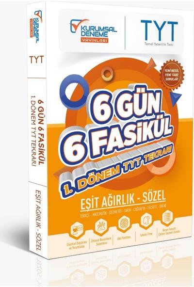 Kurumsal Deneme Yayınları TYT Eşit Ağırlık Sözel 6 Gün 6 Fasikül Yarıyıl Genel Tekrar Kamp Kitabı
