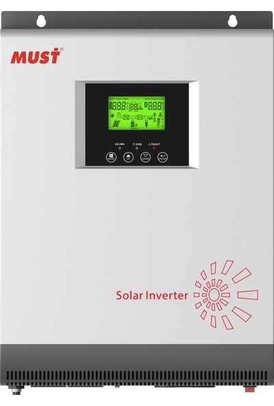 Must Power Akıllı Inverter 1 Kw 1.25 Kva 12 V