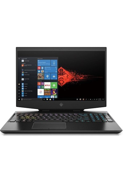 "HP OMEN Intel Core i7 9750H 16GB 512GB SSD RTX2060 Windows 10 Home 15.6"" FHD Taşınabilir Bilgisayar 6ZR76EA"