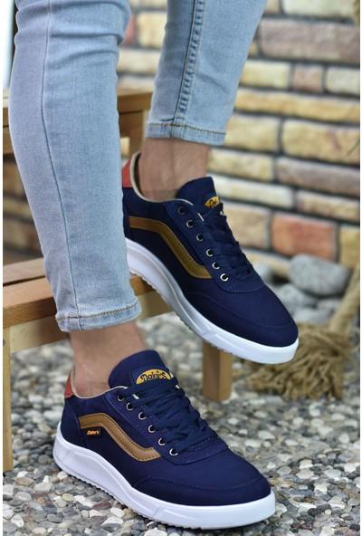 Riccon Lacivert Vizon Erkek Sneaker 00122001