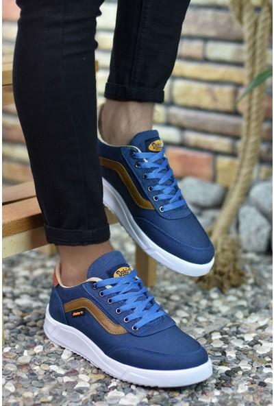 Riccon Mavi Vizon Erkek Sneaker 00122001