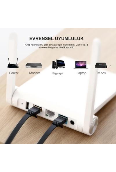 Ugreen Cat7 Flat Ethernet Kablosu 11276 2m