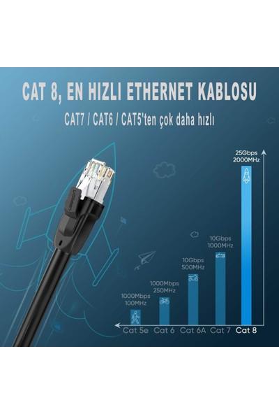 Ugreen Cat8 S/ftp RJ45 Ethernet Kablosu 70330 1.5m