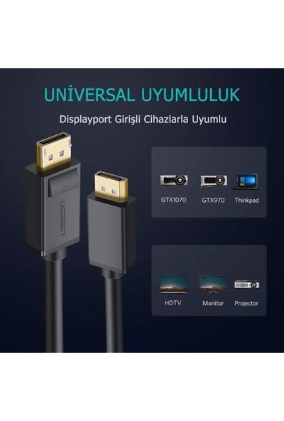 Ugreen 4K 60Hz Displayport To Displayport Kablo 10211 3m