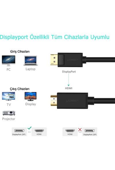 Ugreen 4K Displayport HDMI Dönüştürücü Kablo 10202 2m