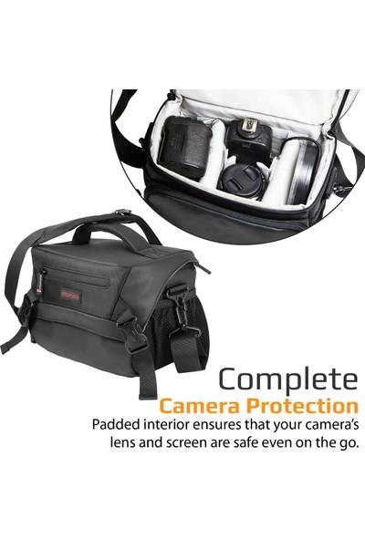 Promate Arco-L Çanta Fotoğraf Makinesi ve Video Kamera İçin DSLR Yağmur Örtülü