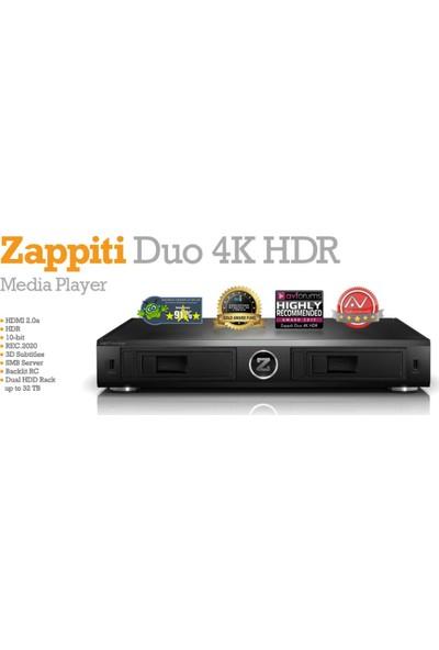 Zappiti Duo 4K Hdr Media Player