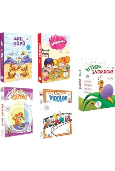 1. Sınıf Hikaye Kitabı Seti - 50 Kitap - Akıl Küpü Şekerpare Çok Güzel Çıtı Pıtı Bilge Salyangoz