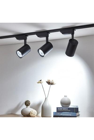 Hero MB 30 W LED Ray Spot Vitrin Mağaza Armatürü Siyah Kasa 6'lı