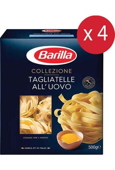 Barilla Tagliatelle Makarna 4'lü Paket