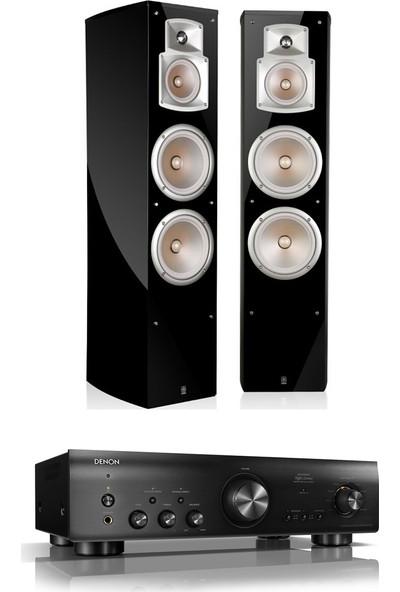 Denon - Yamaha Stereo Paket ( Denon Pma 800 - Yamaha Ns 555 )