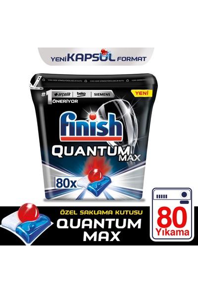 Finish Quantum Max Bulaşık Makinesi Deterjanı 80 Kapsül Özel Saklama Kutusu