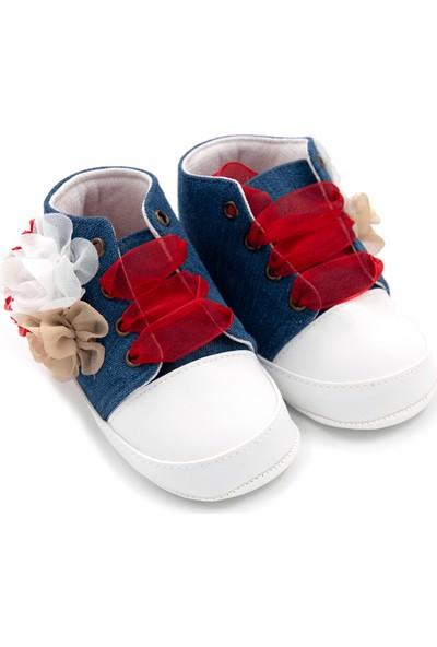 Funny Baby Premium Bağcıklı Ilk Adım Ayakkabı 7011
