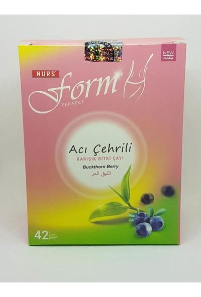 Anamur Naturel Nurs Acı Çehre Form Çayı 42'li Süzen Poşet Çay