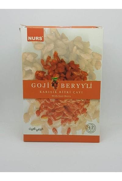 Anamur Naturel Nurs Goji Berry Çayı 42'li Süzen Poşet Çay