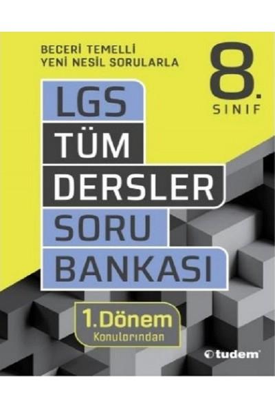 Tudem Yayınları Yeni Tüm Dersler 8.sınıf 1.dönem Soru Bankası