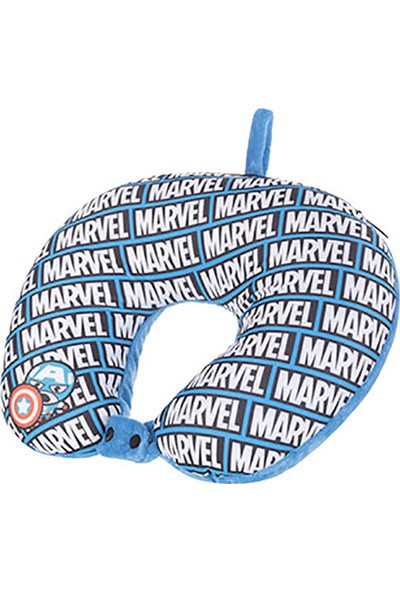 Miniso Avengers 2'si 1 Arada Boyun Yastığı Kaptan Amerika
