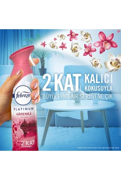 Febreze Platinum Hava Ferahlatıcı Sprey Oda Kokusu Gizemli Tayland 300 ml