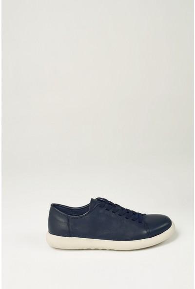 Uniquer Erkek Deri Ayakkabı 101117U 1801 Lacivert