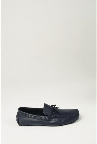 Uniquer Erkek Deri Ayakkabı 10134U 11801 Lacivert