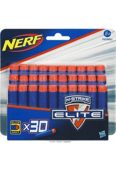 Nerf Elite Yedek Yumuşak Mermi Paketi A0351 30'lu